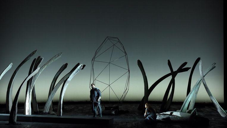 Tristan und Isolde in de regie van Pierre Audi. Beeld  Vincent Pontet