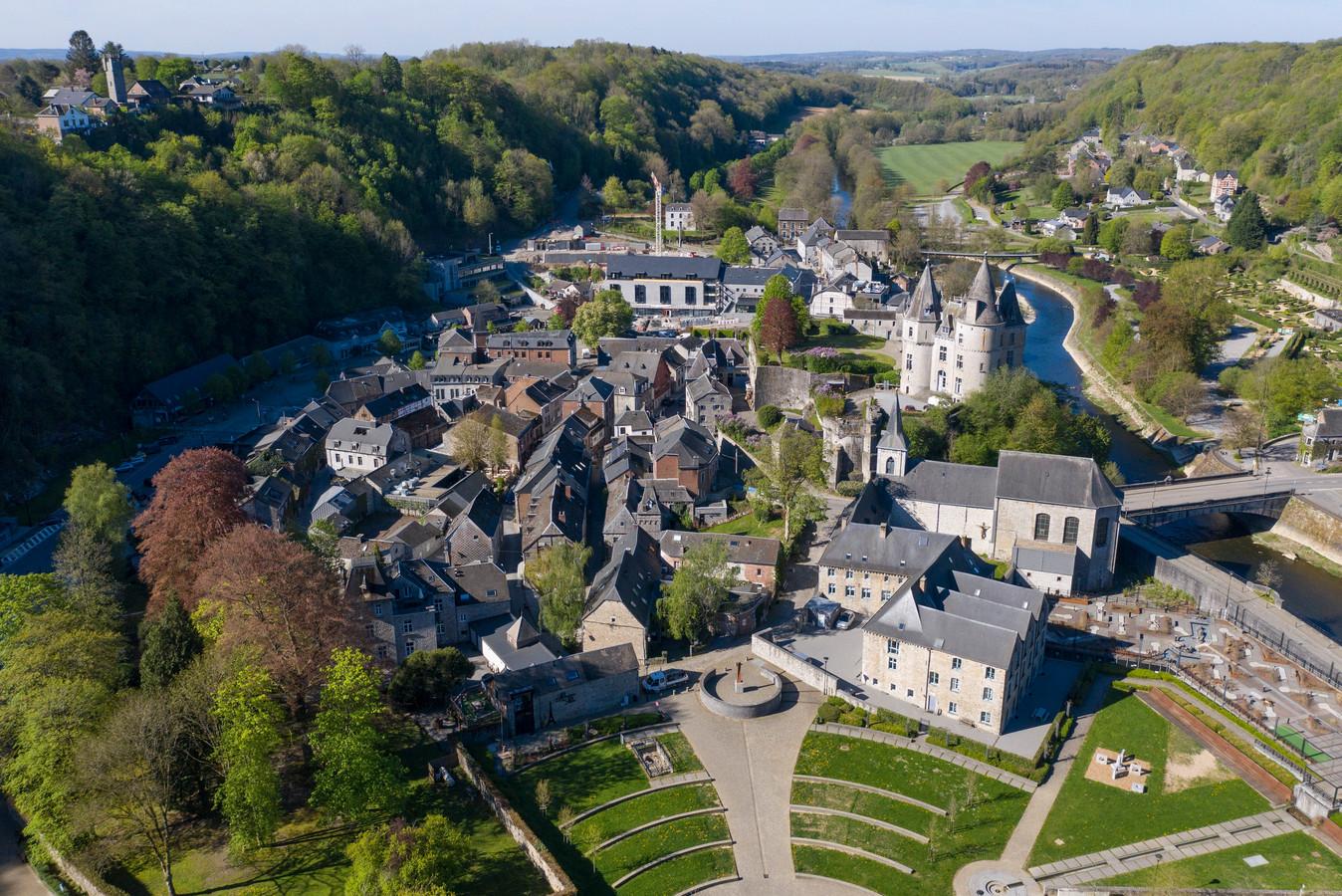 Durbuy, een van de parels in Wallonië.