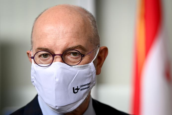 Epidemioloog Pierre Van Damme (UA).