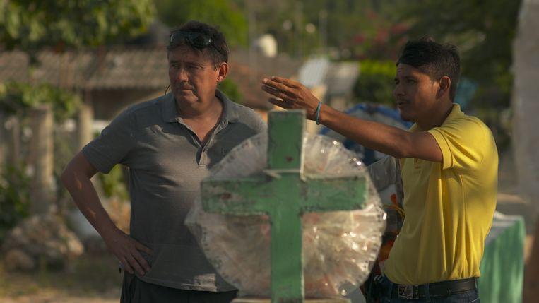 Rudi Vranckx zoekt kleine helden. De Mexicaanse Semeí Verdia legt zich niet neer bij de drugsoorlog. Beeld Joris Vermost