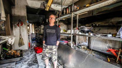 """Zaakvoerder uitgebrand restaurant Peper & Zout: """"Ik wil over drie weken heropenen. Ja, dat wordt krap"""""""