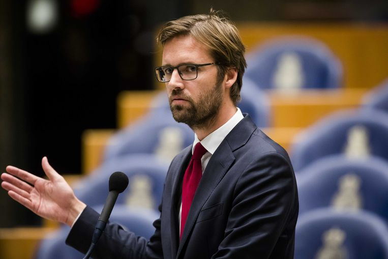 Kamerlid Sjoerd Sjoerdsma van D66.  Beeld ANP