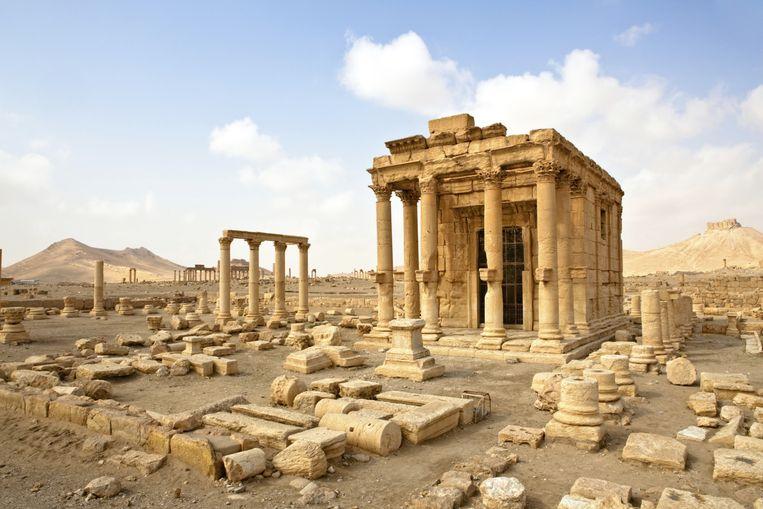 Het zou gaan om de deels gerestaureerde Tempel van Baal-Shamin.