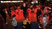 Circustoeren en kinderdisco in spiegeltent
