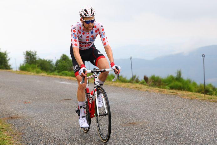 Sans le vouloir, Thibaut Pinot s'est nettement rapproché de Tim Wellens en tête du classement des grimpeurs. Mais ce n'est évidemment pas l'objectif prioritaire du Français.
