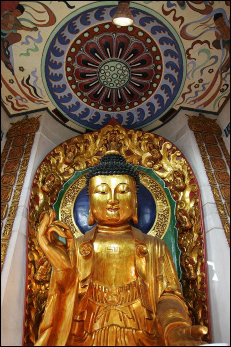 De stichting Mandalaschool wil naast het normale lesprogramma ook aandacht besteden aan meditatie en de kernwaardes van het boeddhisme. Foto ANP Beeld