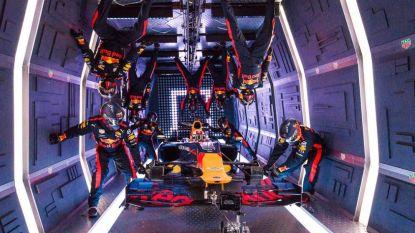 Spectaculaire beelden: F1-team Red Bull maakt pitstop op 10 kilometer hoogte