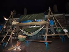 Dalfser Scouts houden koude tenen over aan nachtelijk kampeeravontuur