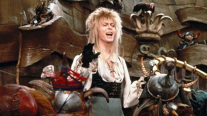 David Bowie in 'Labyrinth'.