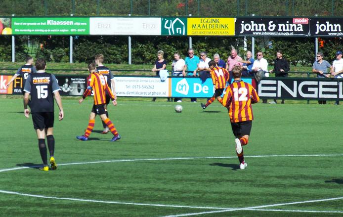 FC Zutphen had geen kind aan vv Rijssen