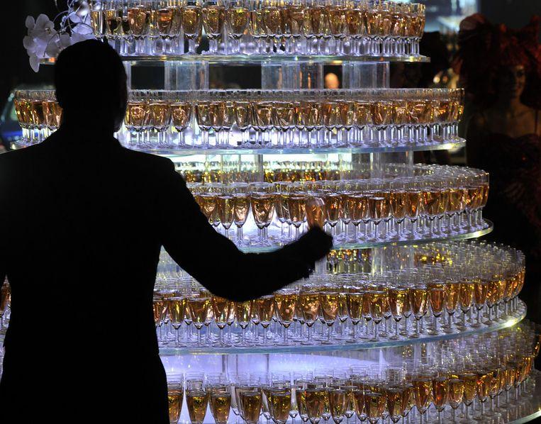 De opening van de Miljonair Fair in 2010 Beeld ANP