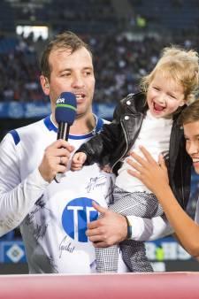 Een afscheid zoals Raffie wilde: 'Voetbal stelt geen reet voor'