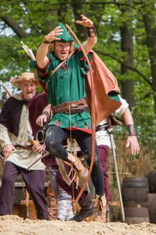 Bijna 6000 bezoekers bij Robin Hood in Hertme