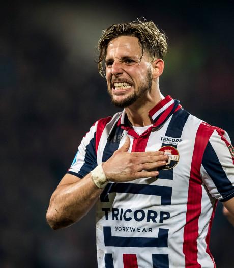 Fran Sol bedankt Willem II-supporters via emotioneel betoog: 'Ik weet dat dit vaarwel niet voor altijd is'