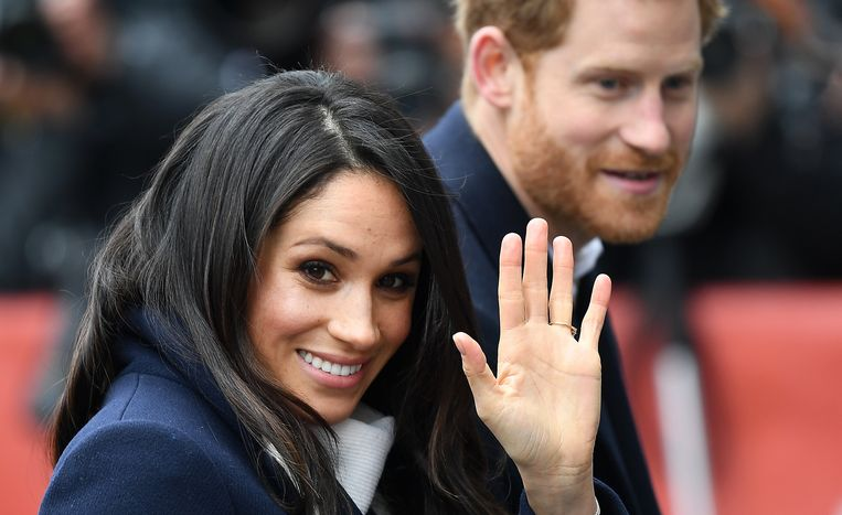 Meghan Markle en prins Harry.