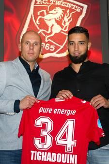 Oud Vitesse-speler Tighadouini speelt met nummer van Nouri bij Twente