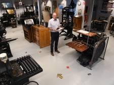 Drukkerijmuseum weer open, met looproutes en maximaal vijftien bezoekers