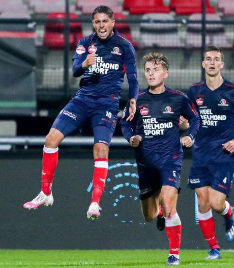 Loukili bezorgt veerkrachtig Helmond Sport een punt in De Goffert