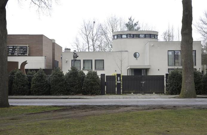 De villa van Lips aan de Heinsbergenstraat in Uden.