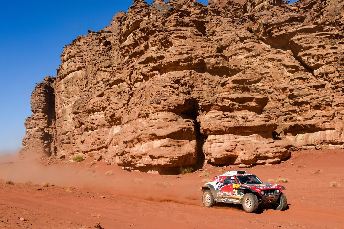Stéphane Peterhansel s'adjuge la 4e étape du Dakar