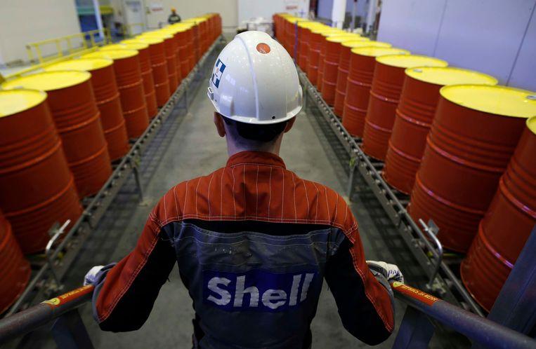 Shell wil vaart zetten achter de investeringen in hernieuwbare brandstof. Beeld REUTERS