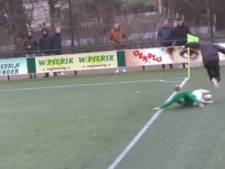 Grensrechter onderuit geschoffeld in Winterswijkse derby