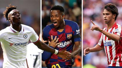 Schitteren deze 10 toptalenten straks in de Champions League?