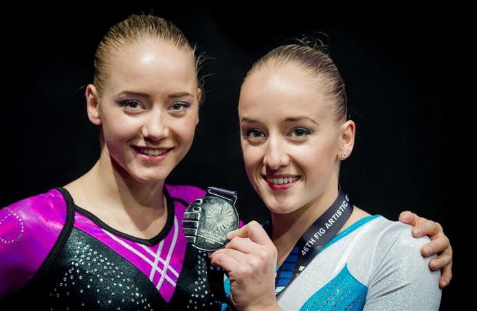 Lieke (links) en Sanne Wevers naar Rio.