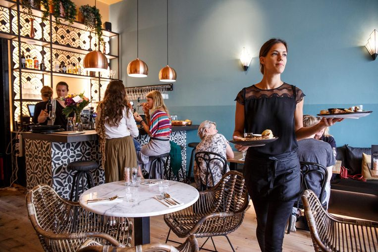 Veganrestaurant Mr. & Mrs. Watson. Beeld Carly Wollaert