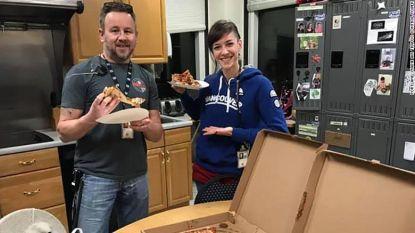 Canadese luchtverkeersleiders laten pizza's leveren bij Amerikaanse collega's die moeten werken zonder loon