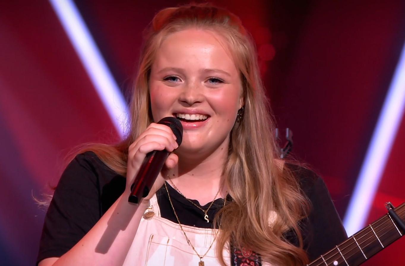 Sophia in The Voice