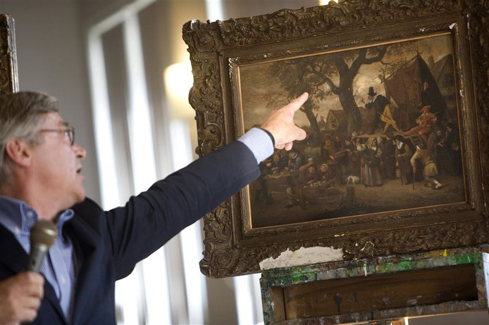 Een van de  in 2002 gestolen schilderijen.