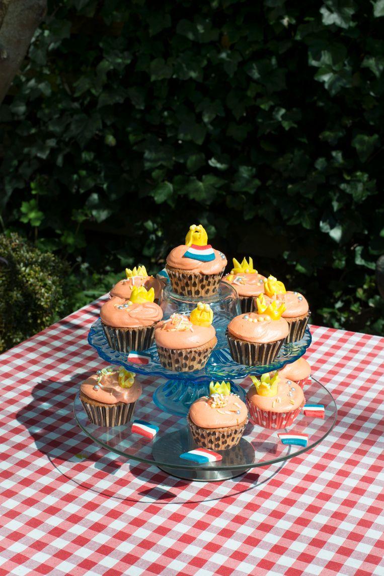 Topstuk: cupcakes (vraagprijs: 80 cent per stuk) Beeld Annabel Miedema