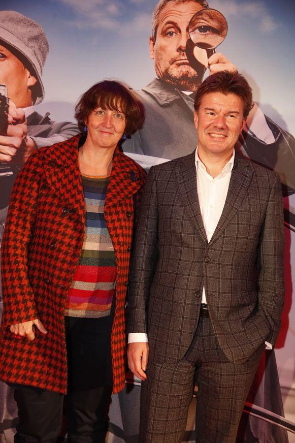 Sven Gatz en zijn vrouw Marjan waren ook aanwezig.