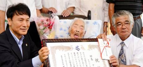 Oudste persoon ter wereld overleden in Japan