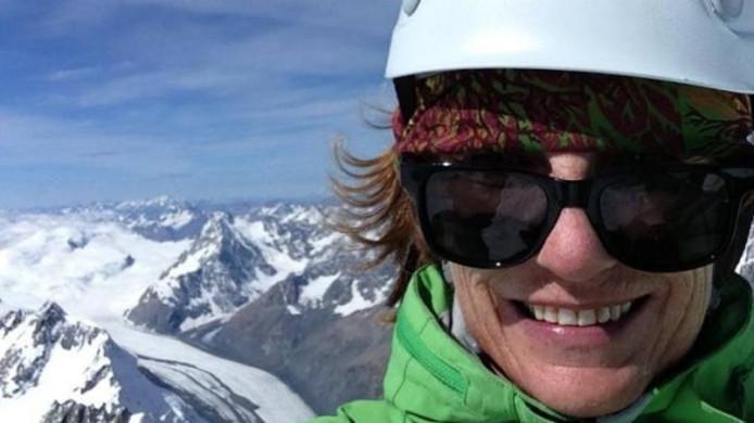 Jo Morgan begon op haar 58ste met bergbeklimmen, maar zegt nu geen klim meer te zullen maken.