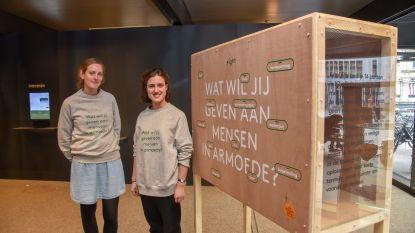 Studenten Sint-Lukas ontwerpen De Kieskast voor De Warmste Week en vzw Eight