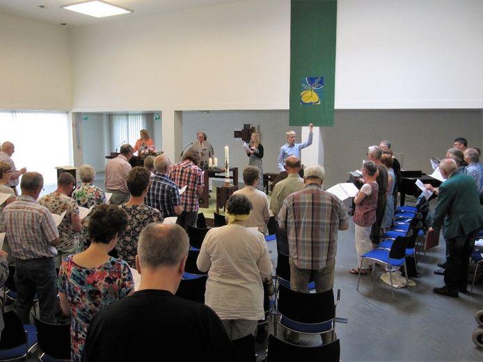 De gemeenschap van Ekklesia komt in de protestantse Opstandingskerk samen.