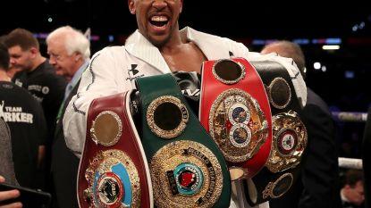 Joshua verdedigt op 22 september wereldtitels bij zwaargewichten tegen Povetkin