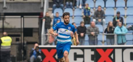 PEC Zwolle stelt vertrouwen in reserveback Destan Bajselmani met tweejarig contract