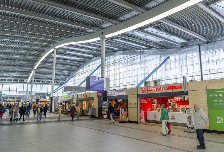 Winkels op Utrecht Centraal. Beeld ANP