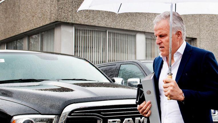 Officier van justitie Lars Stempher noemde Holleeders brief aan Peter R. de Vries 'een cruciaal stuk'. Beeld anp