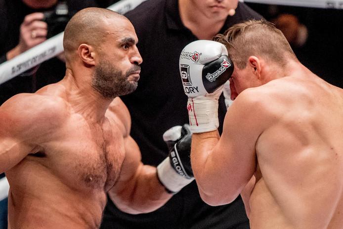 Badr Hari in gevecht met Rico Verhoeven, begin december in Duitsland