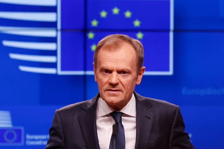 Europees president Donald Tusk.