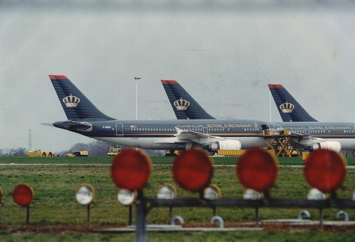 Ter illustratie: vliegtuigen van Royal Jordanian