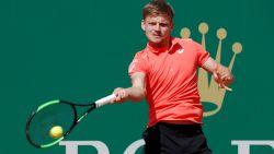 Goffin maakt het zichzelf nog moeilijk tegen 's werelds nummer 16, maar hij mept zich wel naar de kwartfinales in Monte Carlo