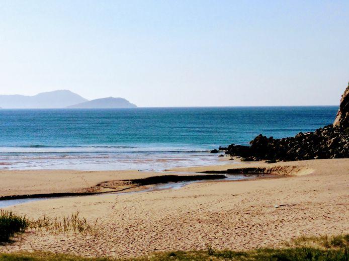 Une plage en Galice.