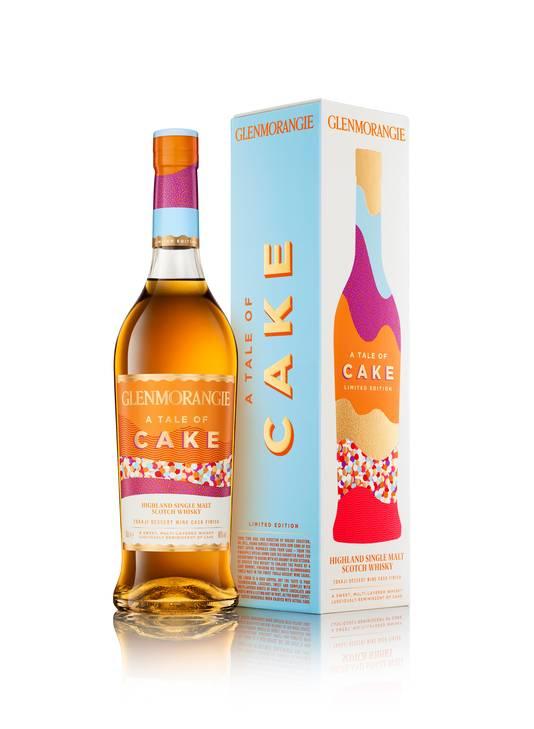 Glenmorangie - Tale of Cake - Centré sur des souvenirs gais et régressifs liés à l'univers de la pâtisserie, il célèbre les plaisirs divins liés aux gâteaux de notre enfance. - Prix conseillé: 85 euros.