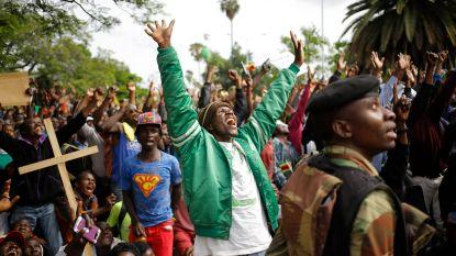 Zimbabwe viert: naderend vertrek voor Mugabe?