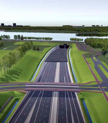 Automobilisten krijgen rekening van  Blankenburgtunnel thuisgestuurd